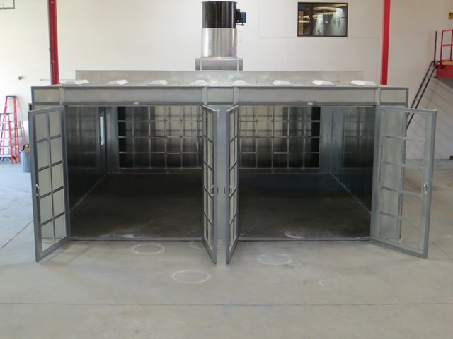 Industrial And Manufacturing Spray Booth Systems